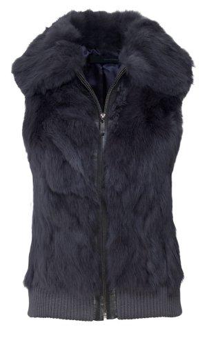 Arma Collection Giacca in pelliccia nero Pelliccia