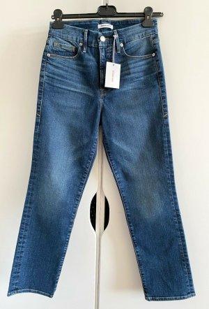 NEU Good American Retro Gerade Mom Vintage Style Jeans Damen Größe 36 / US 6