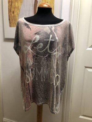 Grace Oversized Shirt multicolored linen