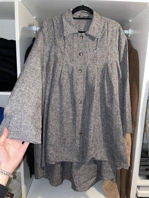 NEU! Graues dünnes Freizeitkleid Kleid