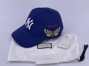 Gucci Gorra de béisbol azul oscuro-azul