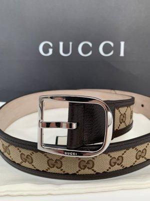 Gucci Cinturón pélvico marrón claro-marrón