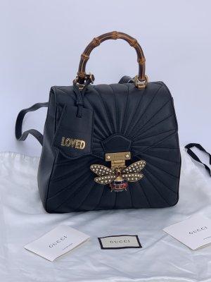 Neu Gucci Rucksack Damen Tasche Leder Queen Margaret