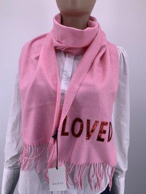 Gucci Bufanda de lana rosa