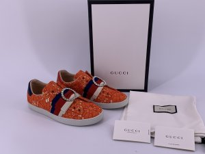 Gucci Basket compensée orange