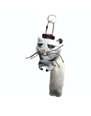 Neu Gucci Taschen/Schlüssel Anhänger Katze