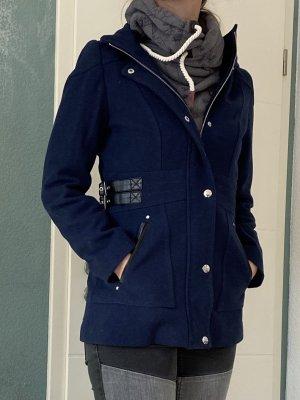 Guess Short Coat blue-neon blue