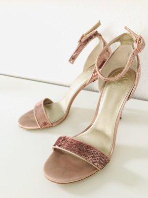 NEU Guess Sandaletten mit Paillettenbesatz Gr 40 statt 125 eur