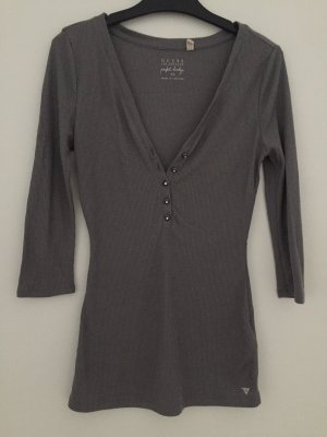 Guess Shirt Tunic silver-colored