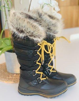 ❤️ Neu!!! Guess Winterstiefel Stiefel Boots Snowboots schwarz 39