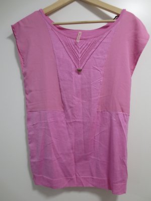 Guess Basic Shirt neon pink
