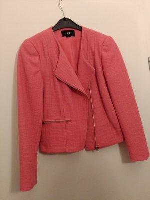 NEU H&M Blazer Pink (Gr. M) 85% Polyester 15% Arcryl