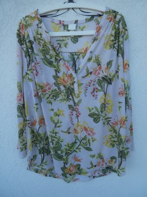 NEU – H&M - Bluse, hellrosa mit Muster