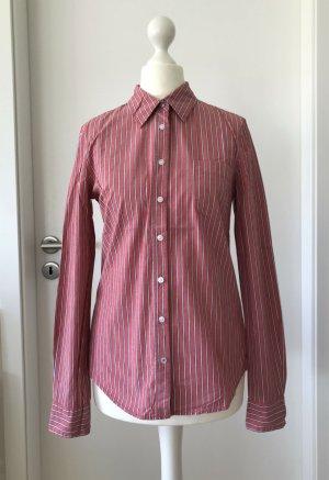 NEU H&M Bluse S 36 Streifen Top Tunika Baumwolle Shirt Oberteil Hemd Klassisch