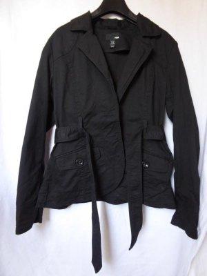 NEU - H&M – Damen Jacke kurz, schwarz