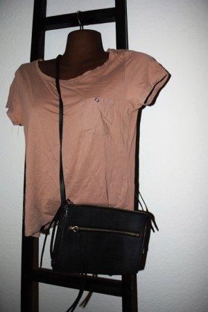 Neu H&M Handtasche schwarz 2020 New York Leder-Look Style Hammer