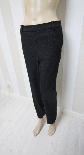 H&M Pantalón tipo suéter negro