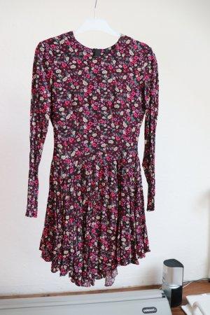 NEU H&M Kleid mit Blumen & Reißverschluss Gr. S - ungetragen
