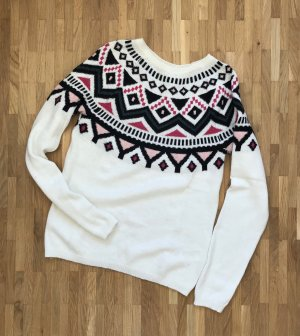 H&M Norwegian Sweater multicolored cotton
