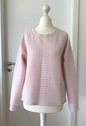 NEU H&M Sweatshirt XS 34 Rose Pastell Sweater Shirt Pulli Pullover Top Oversize