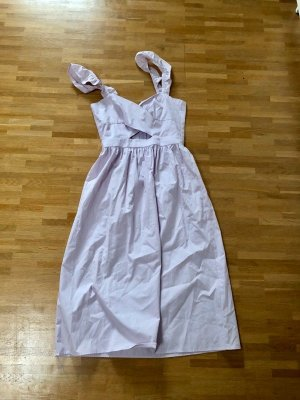 Neu! H&M Trend Midi Träger Volant Kleid XS 32 34 Blogger