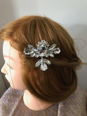 NEU Haarspange Strasskamm Hochzeit Braut festlich