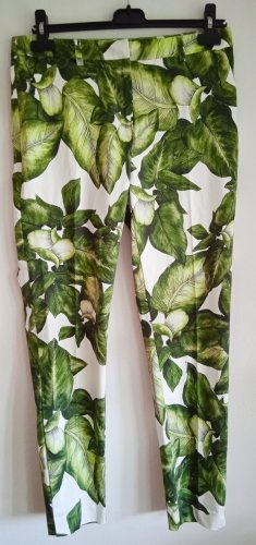 Hallhuber Jersey Pants multicolored cotton