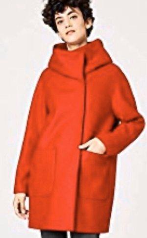 Hallhuber Hooded Coat red