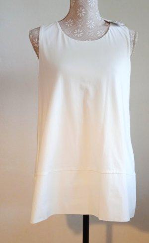 NEU-HALLHUBER, Shirt Top, M (ca 38/40), Off White Eierschale, NP 49€, Baumwolle, STYLISH