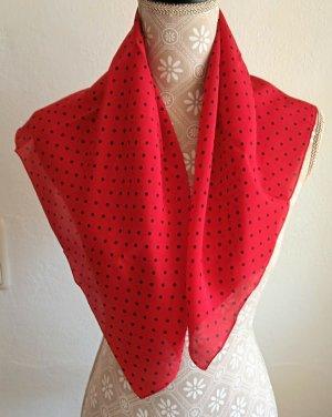 Hallhuber Silk Cloth black-red silk