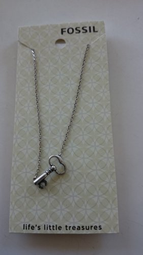 Neu! Halskette von Fossil mit Schlüsselanhänger