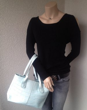 NEU * Handtasche (Echtleder) im Krokodesign