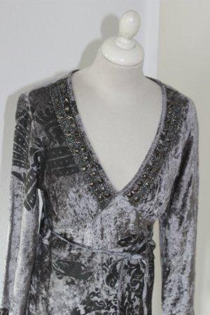 *NEU* HEINE Kleid Hippiekleid Samtkleid Pannesamt Gr 38 40 M
