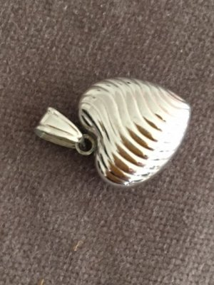 NEU: Herz 925 Silber, Juwelierstück, Anhänger f Kette, kein Thomas Sabo Massenprodukt