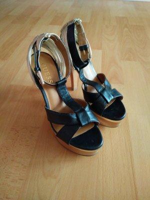 *NEU* High Heels, Schwarz, Gold (Box S 2)