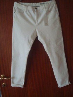 Edc Esprit Jeans 7/8 blanc