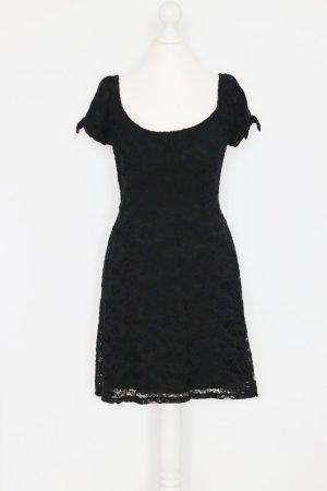 NEU Hollister Spitzen-Kleid Gr. S schwarz
