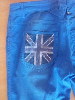 Denny Rose Drainpipe Trousers multicolored mixture fibre