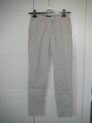 NEU, Hose, leichte Hose, Stoffhose, Sommerhose, H&M, beige, Gr. 36