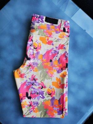 Vero Moda Pantalon strech multicolore coton