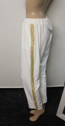 Spodnie sportowe złoto