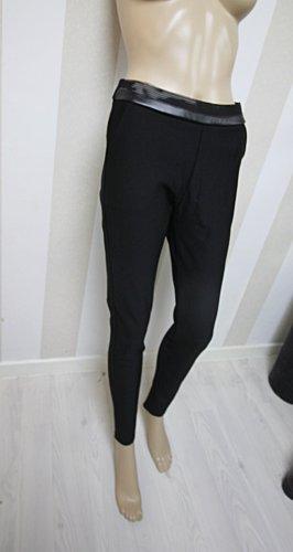 Pantalon en jersey noir