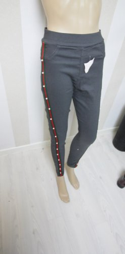 NEU Hose mit Perlen und Streifen Design