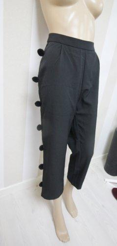 Boohoo 7/8-broek zwart