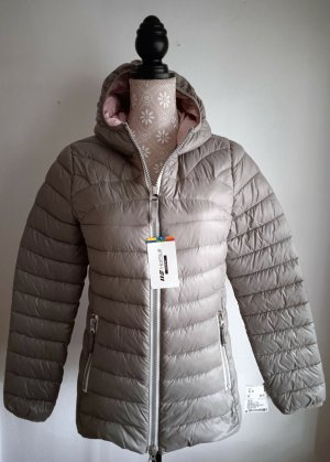 NEU - HOT STUFF, Steppjacke, 36, Grün-Grau, innen Rosé, NP 99€, STYLISH