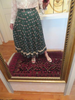 Huber Mode und Tracht Traditional Skirt multicolored mixture fibre