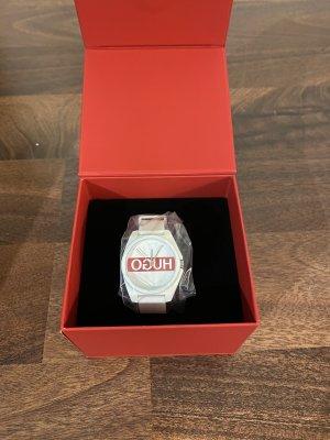HUGO Hugo Boss Reloj analógico blanco-rojo