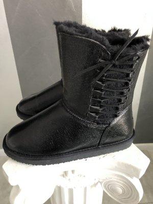 Island Boot Botte courte noir