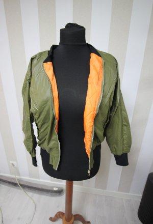 Bluzon czarny-pomarańczowy