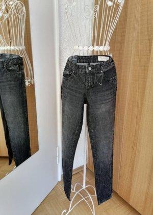 Esmara by Heidi Klum Jeans boyfriend multicolore coton